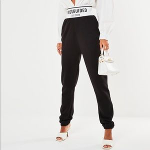 Lisssy Roddy x Missguided high waist sweatpants